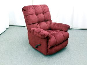 17704 - heat - massage - recliner - JA-4737 - angled