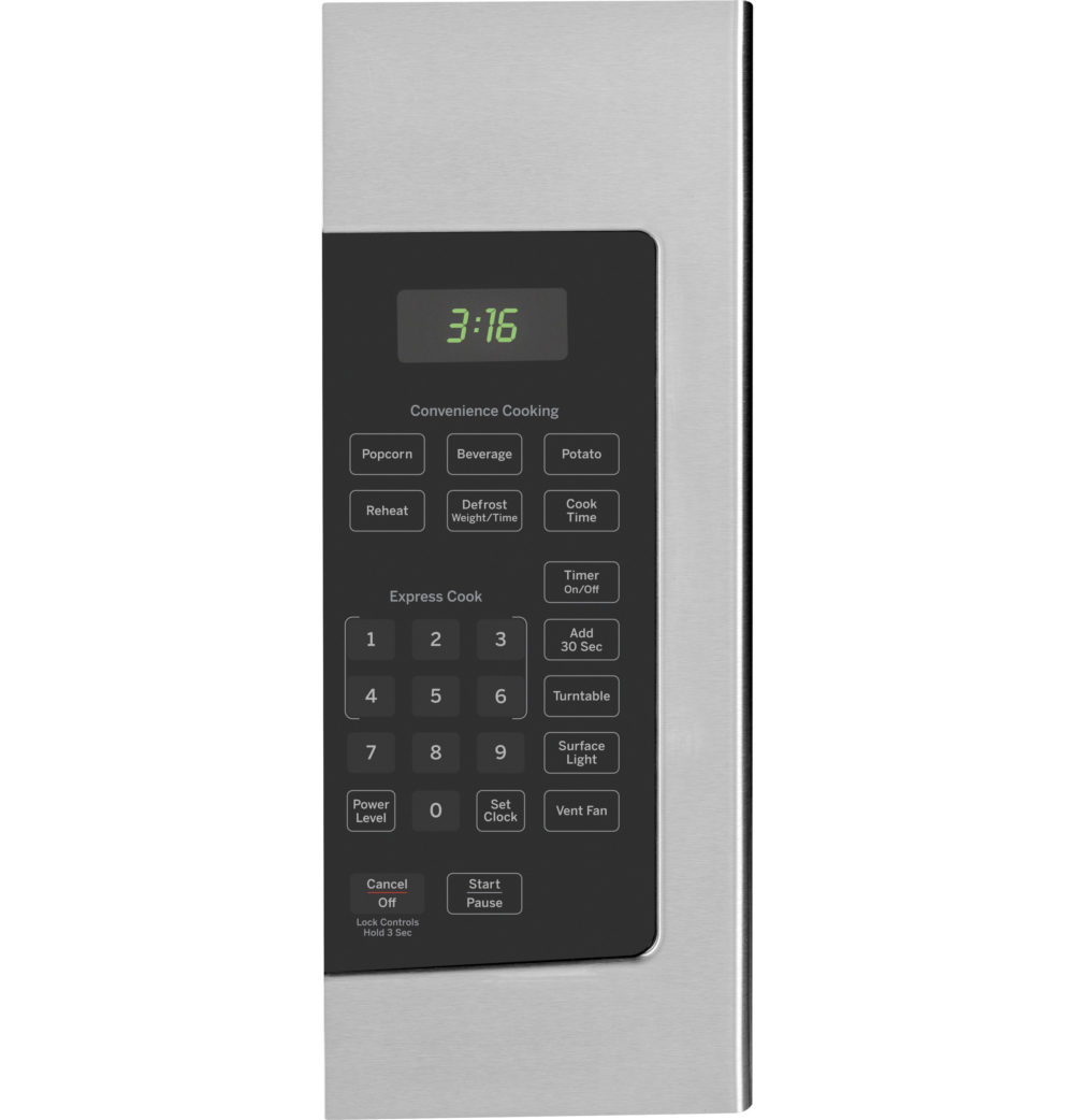 18743 - Over the Range Microwave - JVM1635SFC - Control