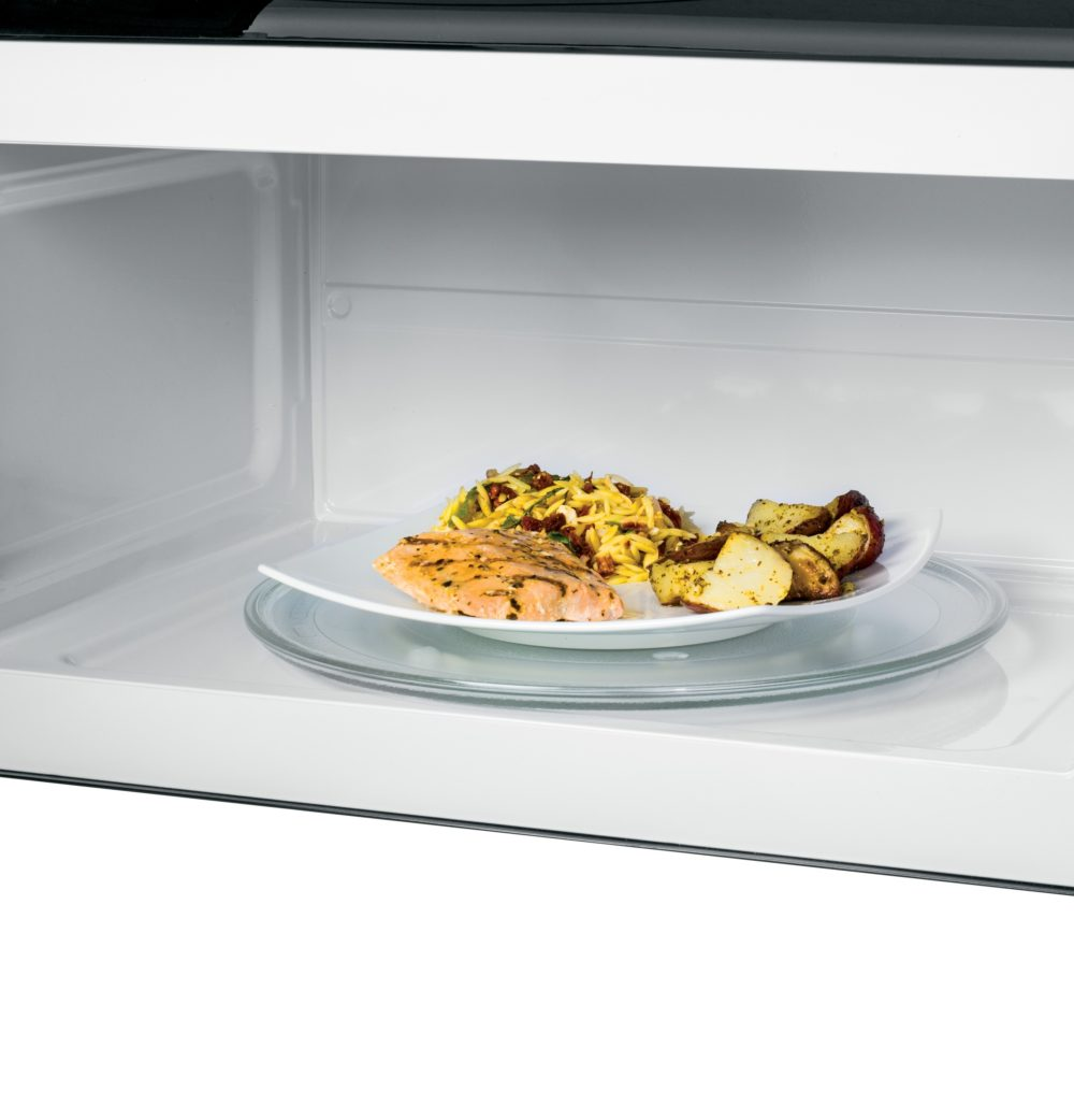 18743 - Over the Range Microwave - JVM1635SFC - Open