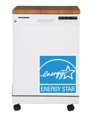 19301 GE Portable Dishwasher - Energy Star Certified