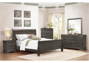 19681 - Bedroom Set - MF-2147 - Grey