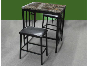 20168 - Pub Table & 2 Stools - TF-3215