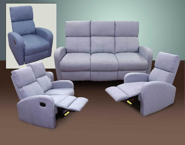 Reclining Sofa, Love Seat, Chair