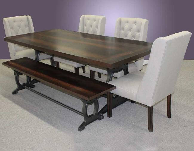 Table, Chairs U0026 Bench