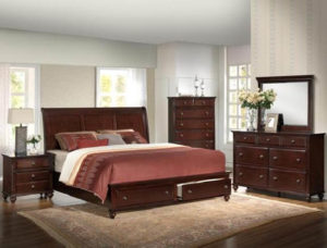 Crownmark Portsmouth Queen Storage Bed
