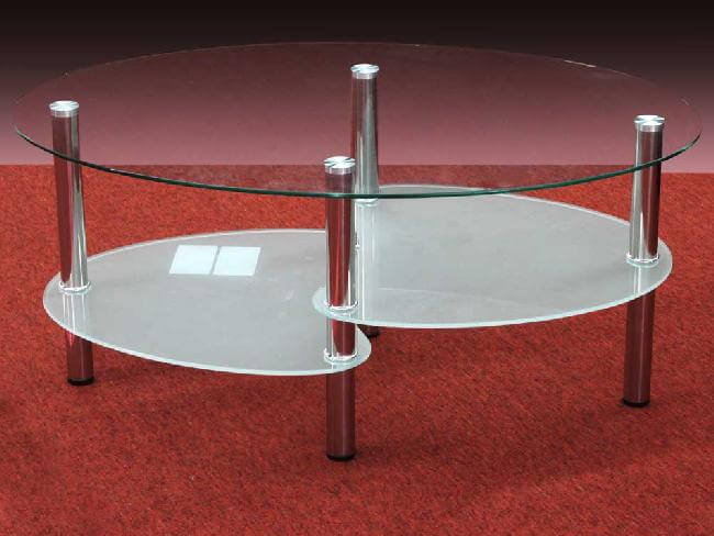 20172 - Clear Coffee Table - TF-5002