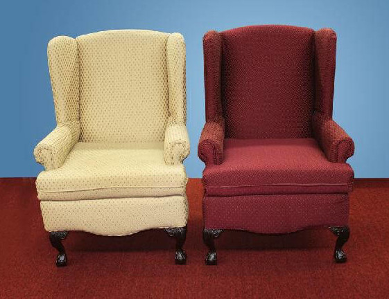 20258 - Wing Back Chairs