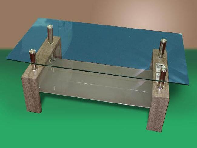 20289 - Glass Coffee Table - TF-5000