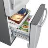 20599 - fridge - GDE21DSKSS - freezer - open