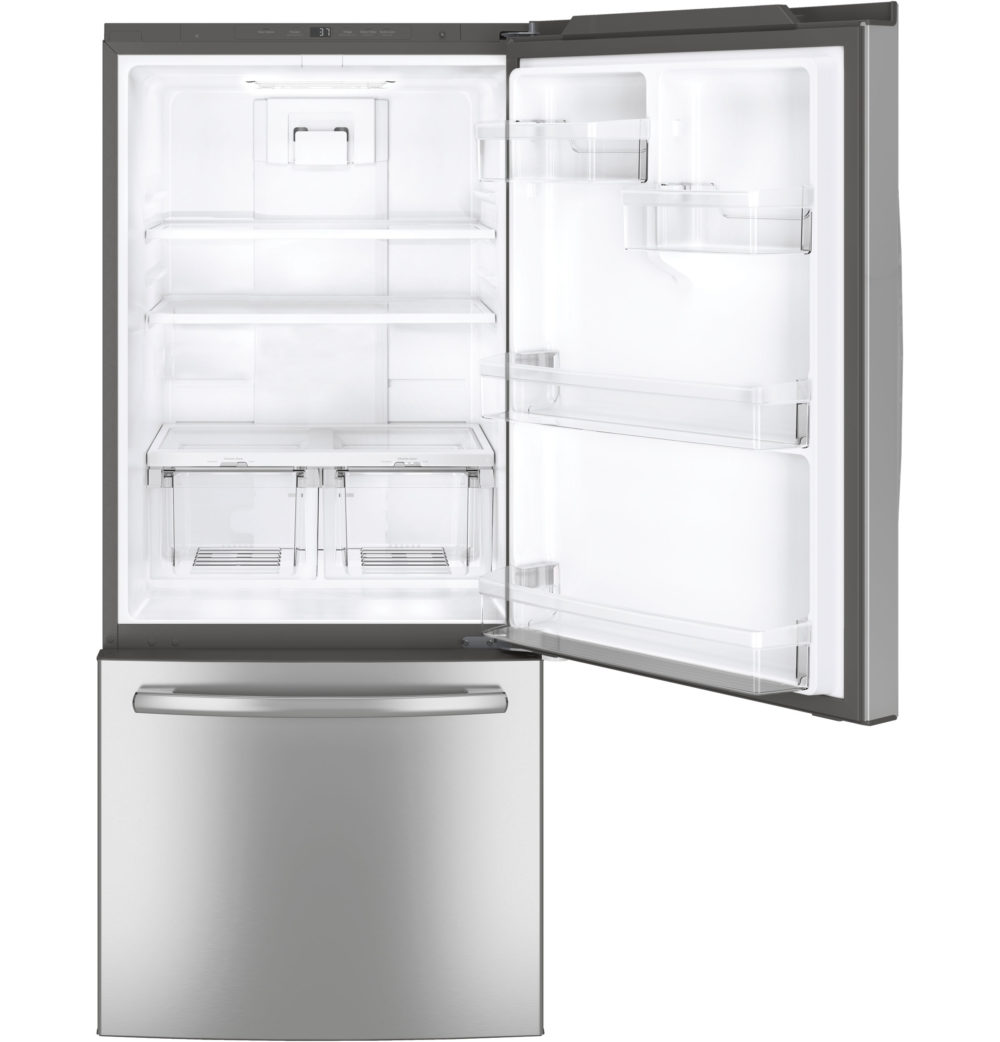 20599 - fridge - GDE21DSKSS - open