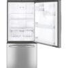20599 - fridge - GDE21DSKSS - open