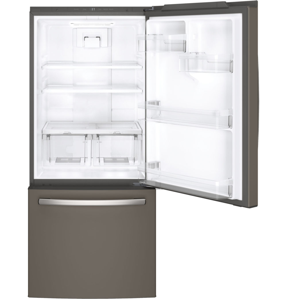 20600 GE 21 Cubic Foot Bottom Freezer Refridgerator