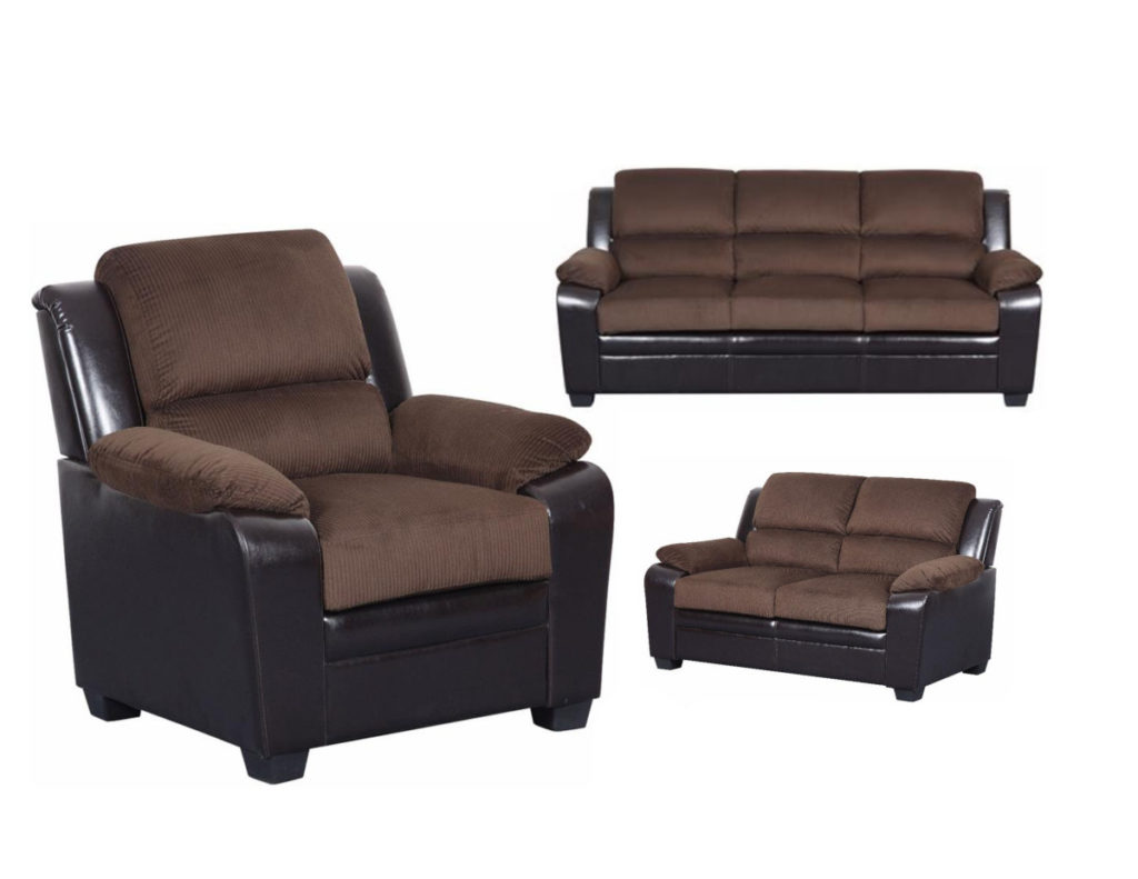 Sofa, Loveseat & Chair Set