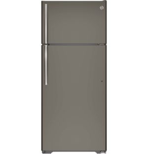 21120 - 18 Cubic Foot Slate Top Mount Fridge - GTE18GMHES