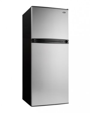 21685 - 10 cubic foot frost free fridge - stainless steel