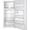 21936 - fridge - GTE15CTHRWW - open - empty