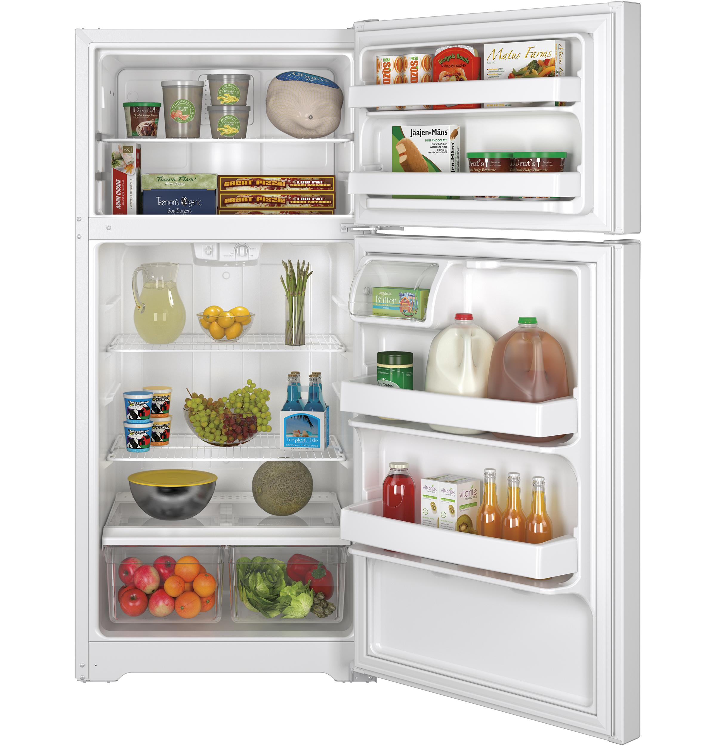 21936 – fridge – GTE15CTHRWW – open – full