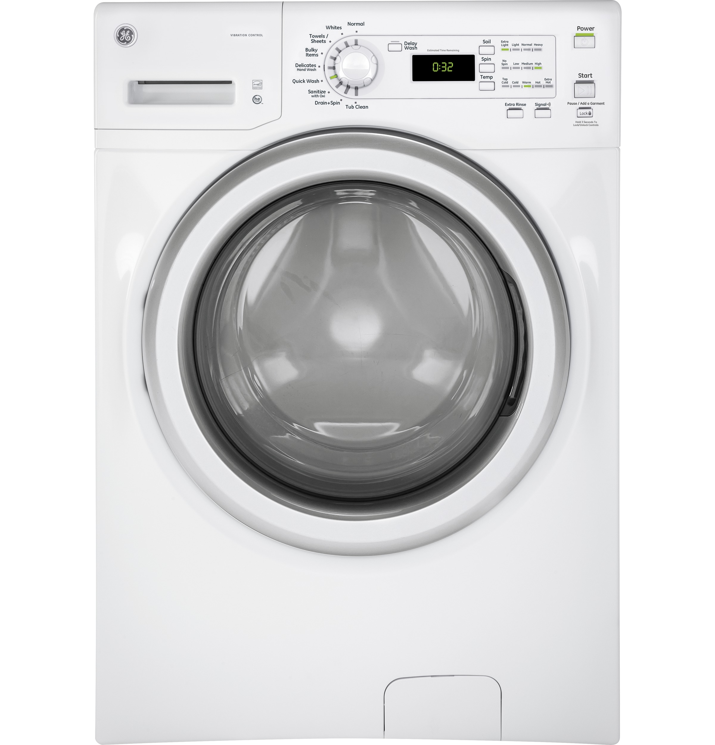 22121 – Front Load Washer – GFW400SCMWW