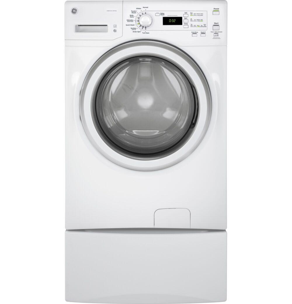 22121 - Front Load Washer - GFW400SCMWW-pedestal