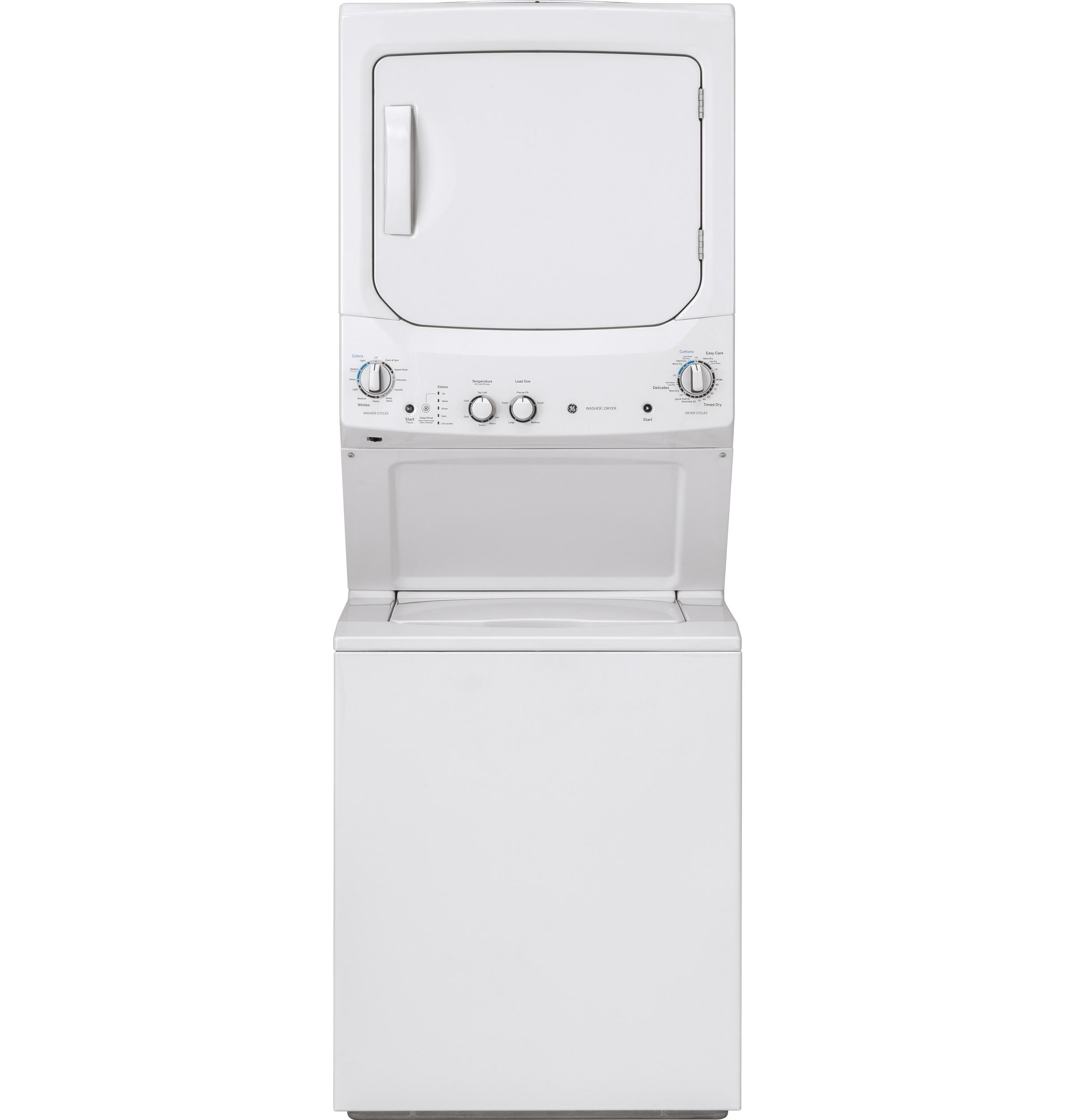22159 Stacker Washer Dryer Pair – GUD27ESMMWW