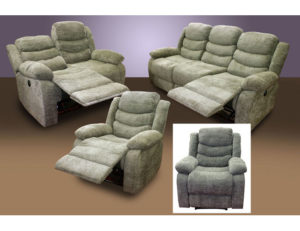 22181 - Reclining Sofa Set
