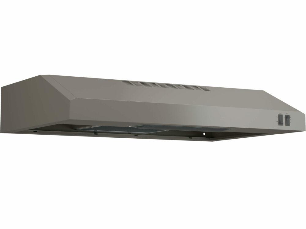 22321 - Range Hood - G-JVX3300EJESC - Slate - Angle