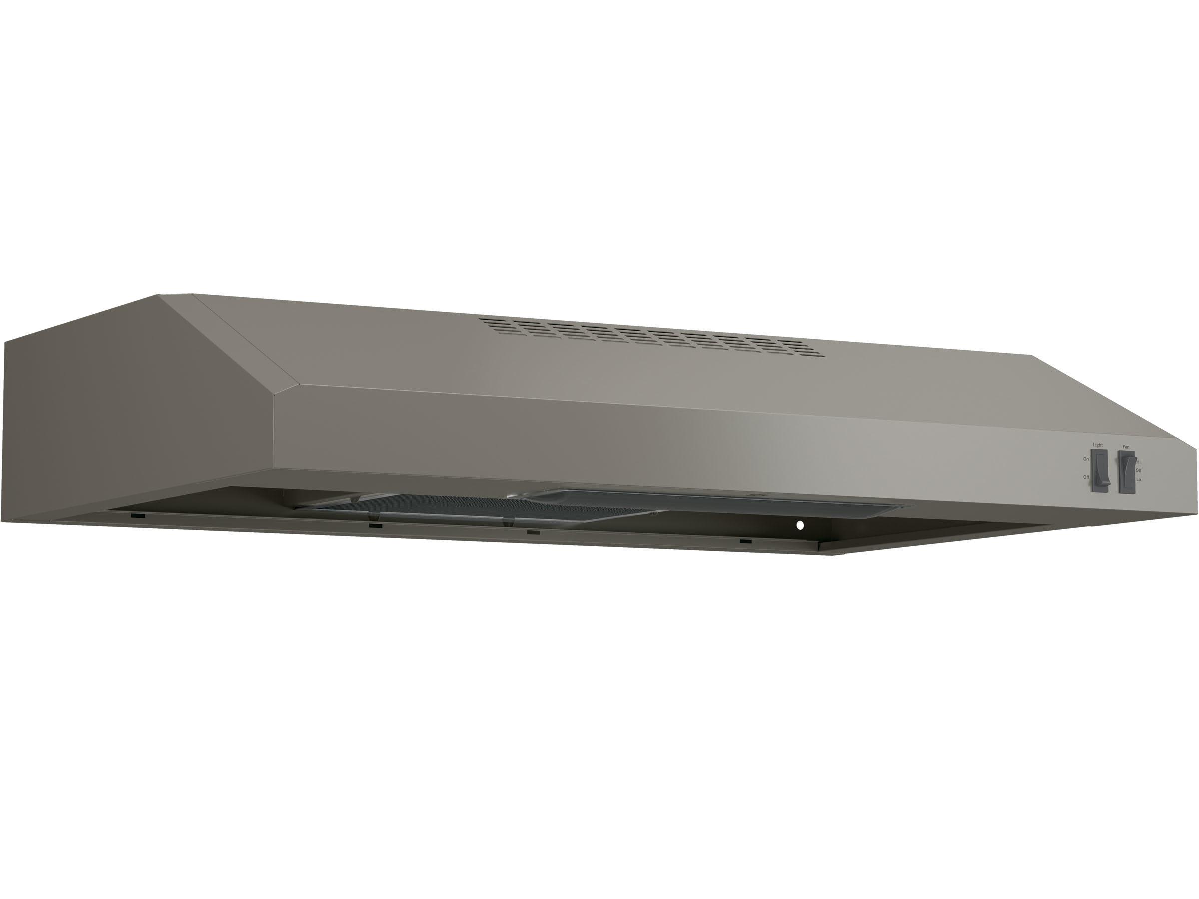 22321 – Range Hood – G-JVX3300EJESC – Slate – Angle