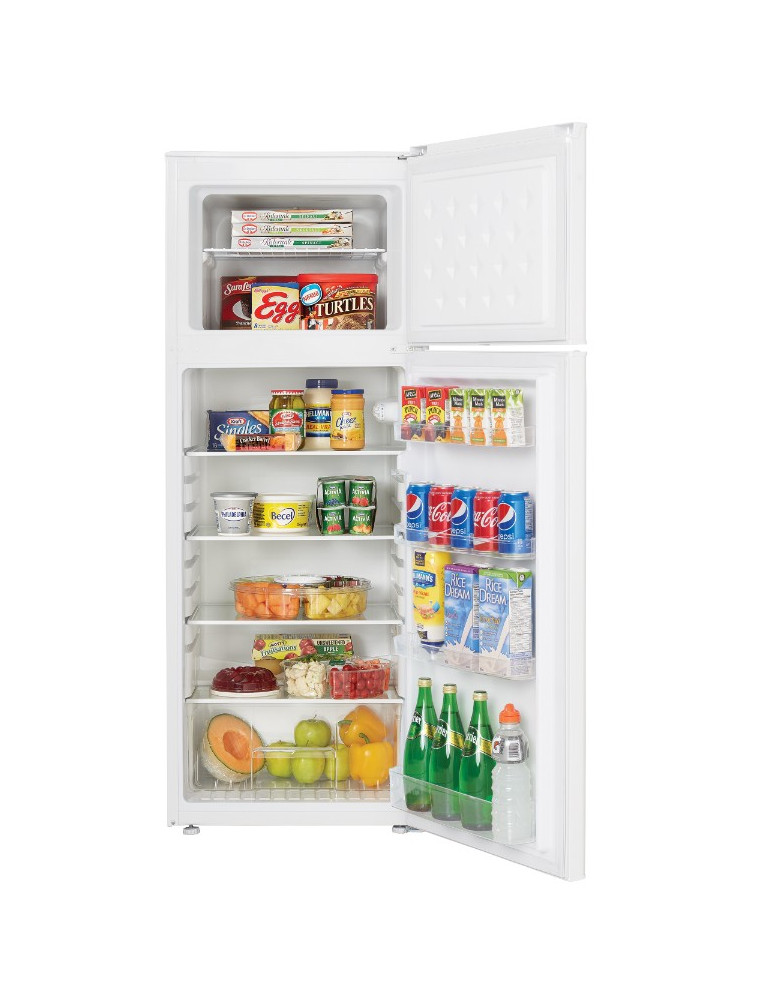22502 - 7 Cubic Foot Fridge - Open & Full