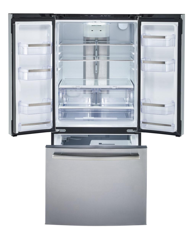 22570 - fridge - PNE25NSLKSS - open - empty