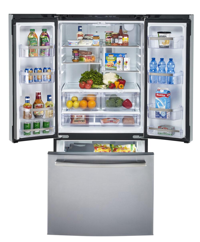22570 - fridge - PNE25NSLKSS - open - full
