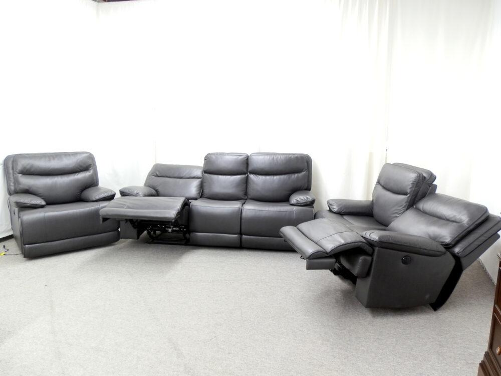 22657 - Power Reclining Sofa Set - Open