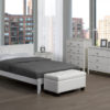 22663 - Double Bed, White