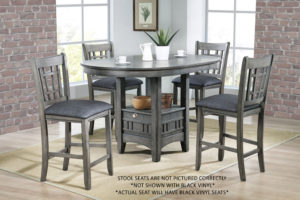 22769-Grey Pub Table-CA-GD2020CT