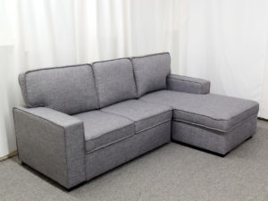 22787 22788 Chaisse Sofa with Popup Bed & Storage