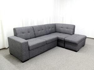 PR Vincent - Chaisse Sofa with Popup Bed & Ottoman Storage