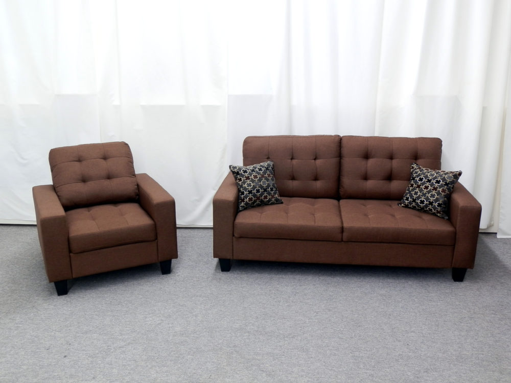 22813 - Sofa and Chair Set - GTU-4435