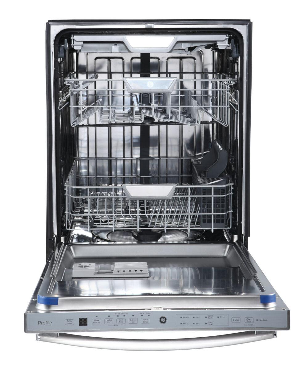 22830 - Stainless Steel Dishwasher w/ Tall Tub - PBT660SGLWW - Open