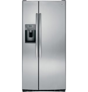 22836 - Stainless Steel 23 Cubic Foot Side-by-Side Fridge - GSS23HSHSS