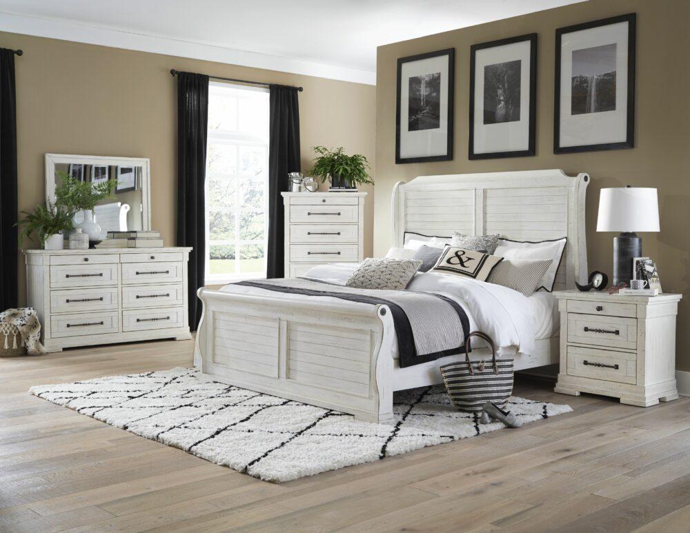 22947 - Bedroom Set - LS-8047
