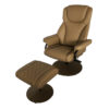 23049 Swivel Chair with Ottoman