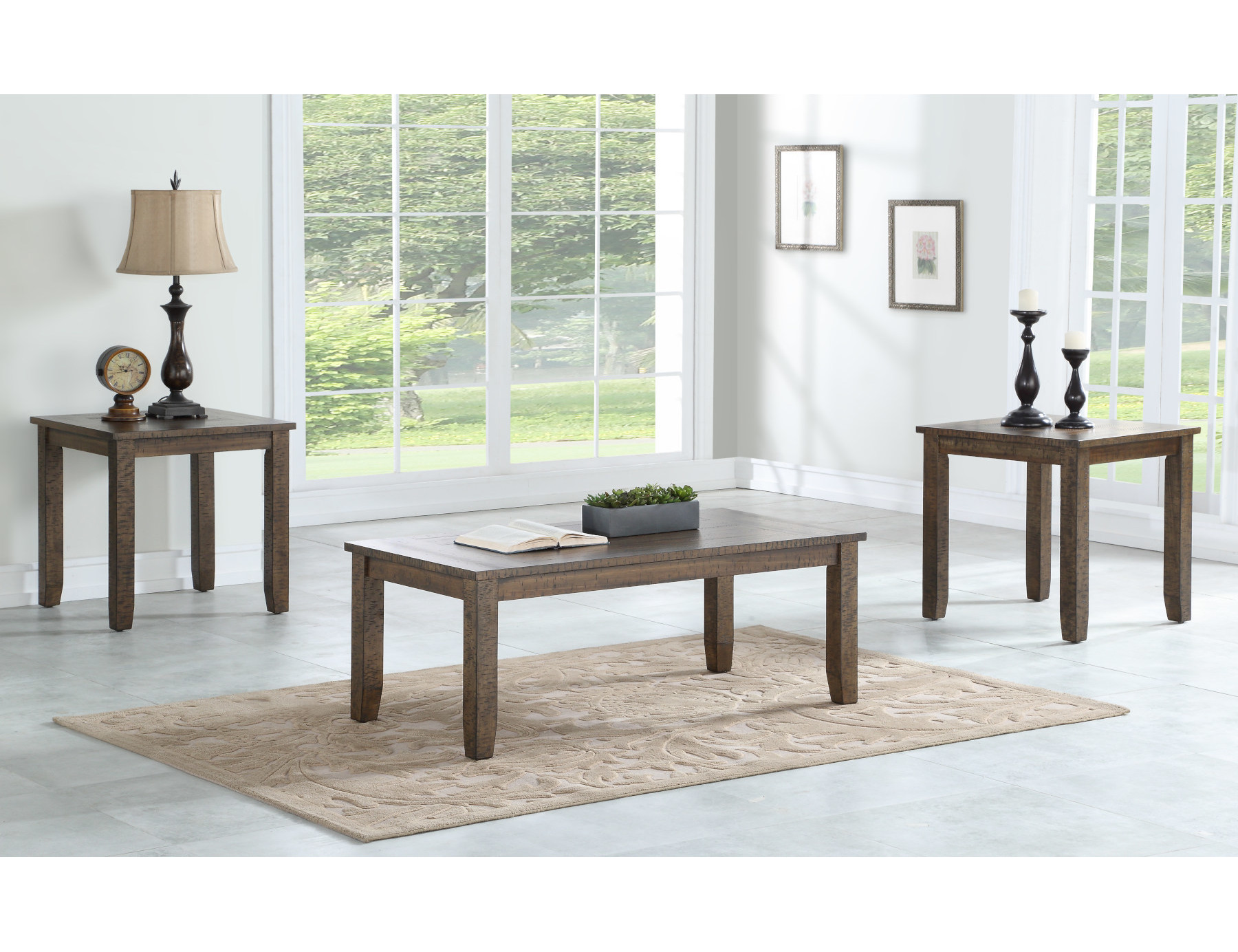 23114 – Coffee and End Tables