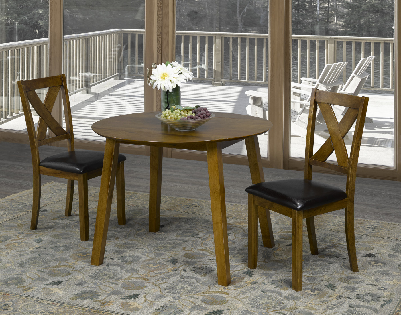23117 – Table & 2 Chairs – BX-7015-13