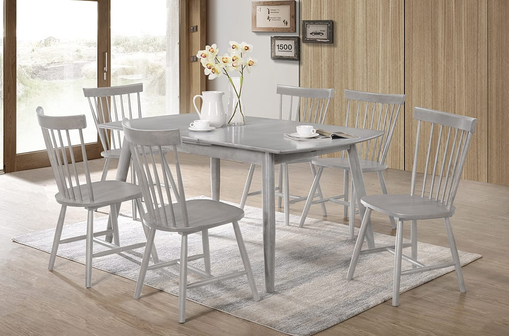 23134 – Table and Chairs – TF-3056 – Grey