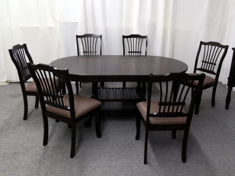 23251 - Table & 6 Chairs