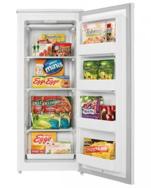 23283 - 10 cubic foot upright freezer - prop