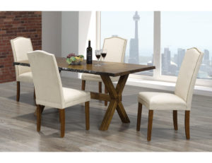 23417 - Living Edge Dining Room Table Set - TF-3038 - TF-230