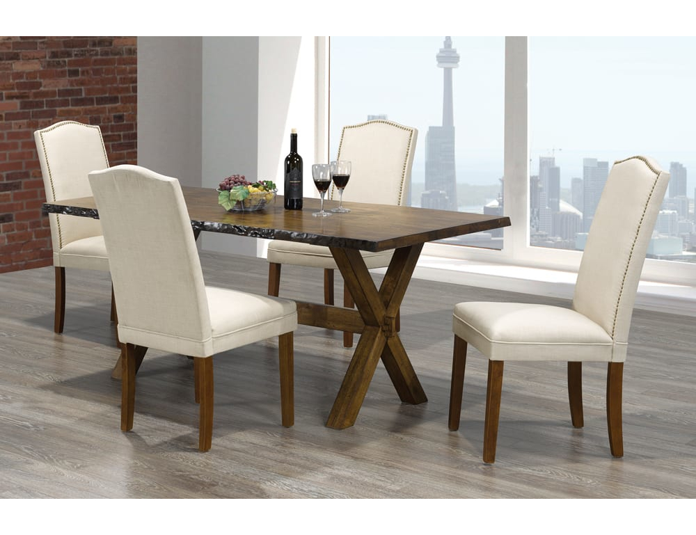 23417 – Living Edge Dining Room Table Set – TF-3038 – TF-230