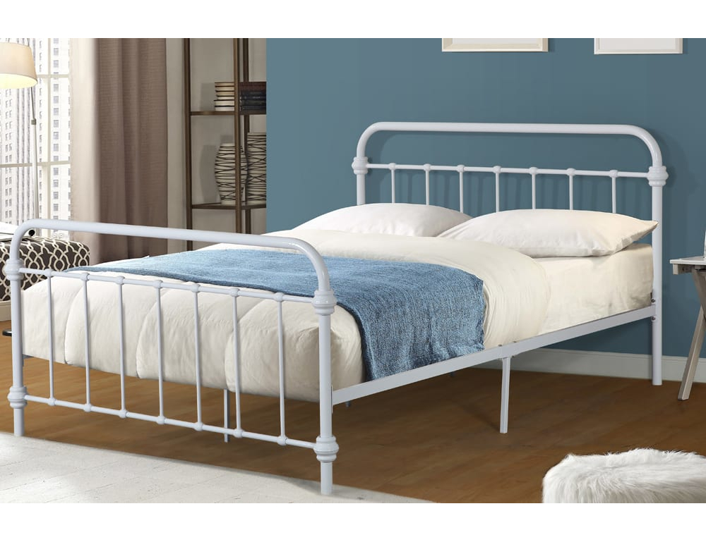 23419 – Metal Bed – TF-2335 – White