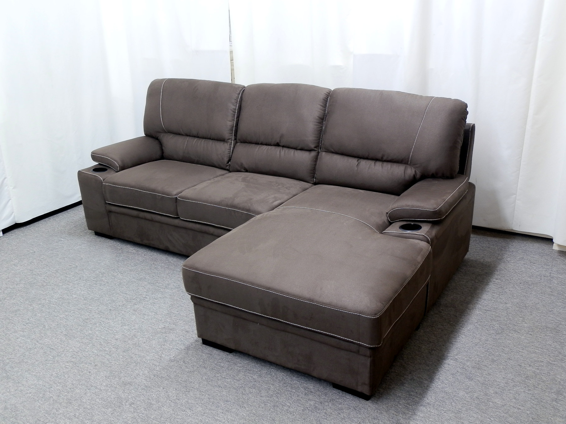 23483 – sectional – with – pop – up – bed – and – storage – PR-GUI-NC – no – ottoman