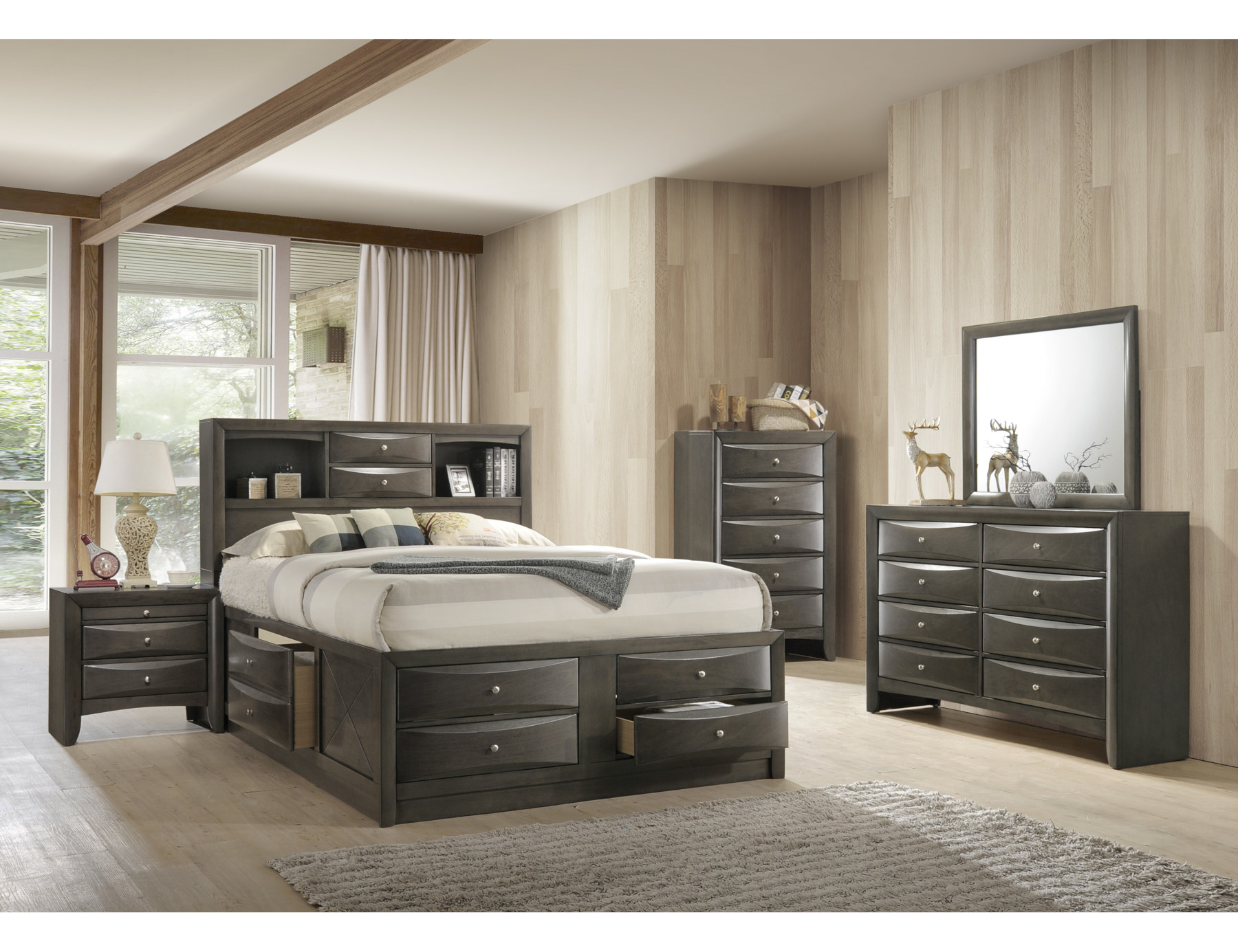 23525 – Storage Bedroom Set – CMK-4275